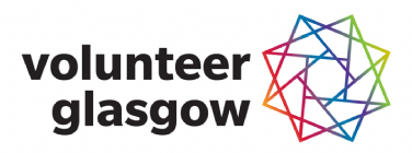 Logo for Volunteer Glasgow - A volunteer community powered by TeamKinetic